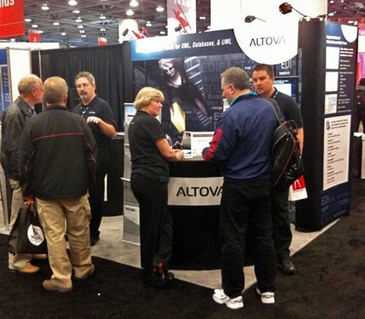 Altova-booth-Oracle