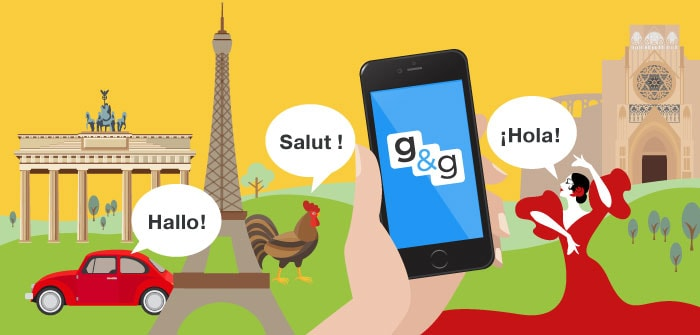 Group & Gather app localized