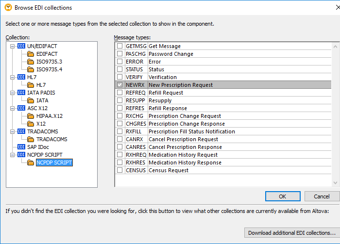 Data Mapping NCPDP SCRIPT messages