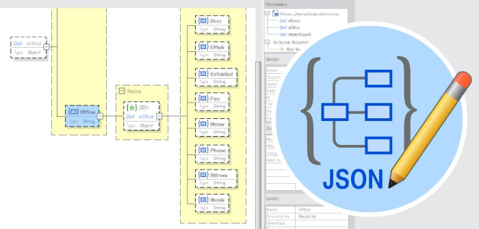 JSON Schema Editor in XMLSpy