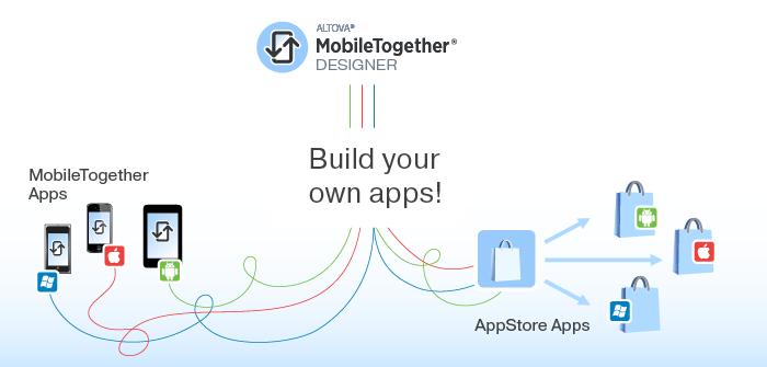 Build apps in MobileTogether