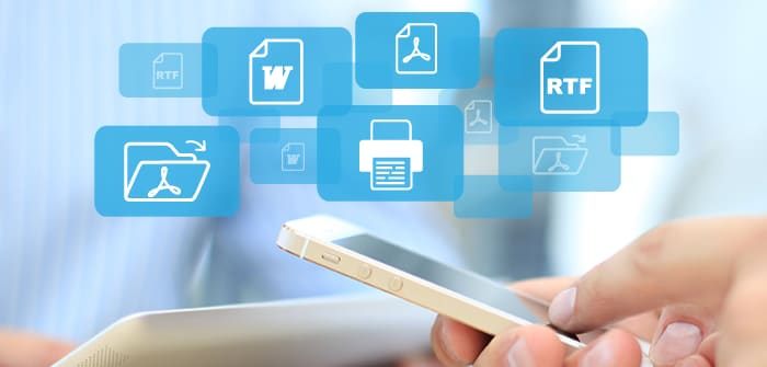 Generate PDF, Word, or RTF Documents from a Mobile App - Altova Blog
