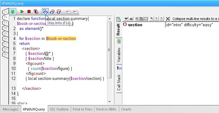 XPath XQuery Debugger
