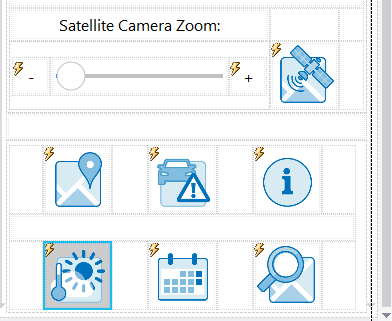 Image layout in tables as seen in the MobileTogether Designer