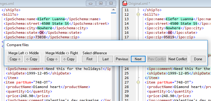 How to Compare XML and Other Files - Altova Blog