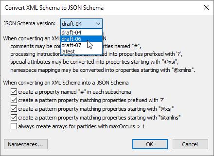 Convert XML to JSON