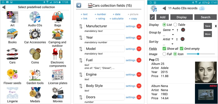 Customize and manage a collection