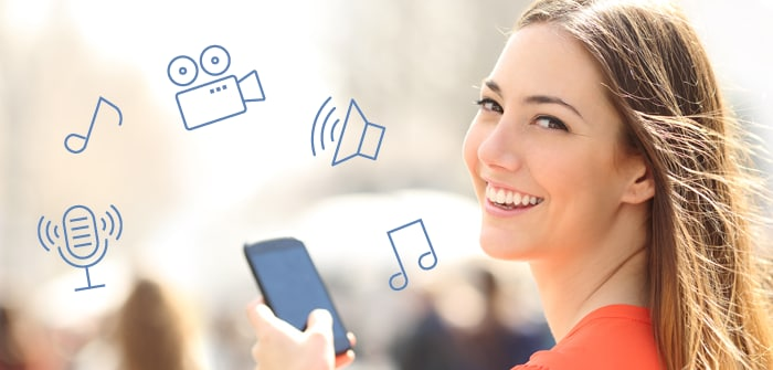Add audio and video to delight mobile app users