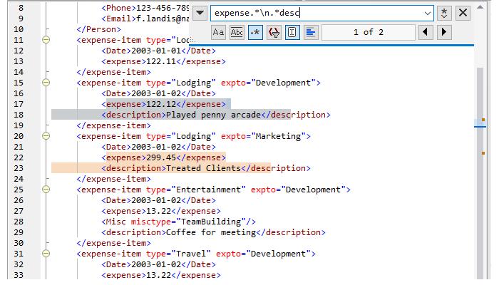 Multi-line find/replace using regex
