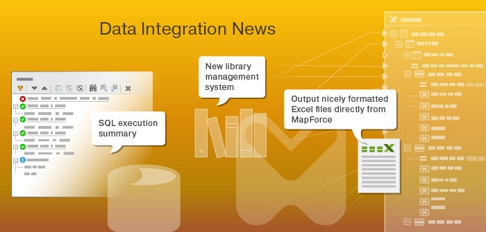 New data integration tools in Altova's release