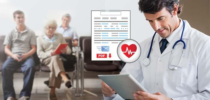 Patient form mobile app