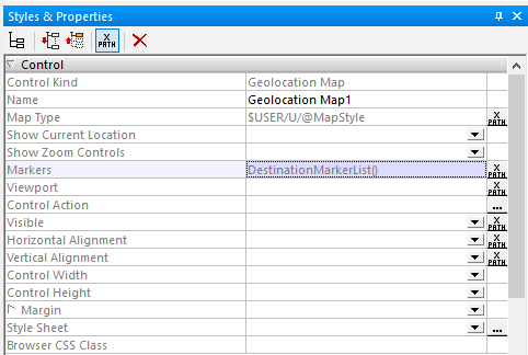 Assigning a user function as a property of the map