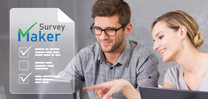 Create free surveys with the SurveyMaker app