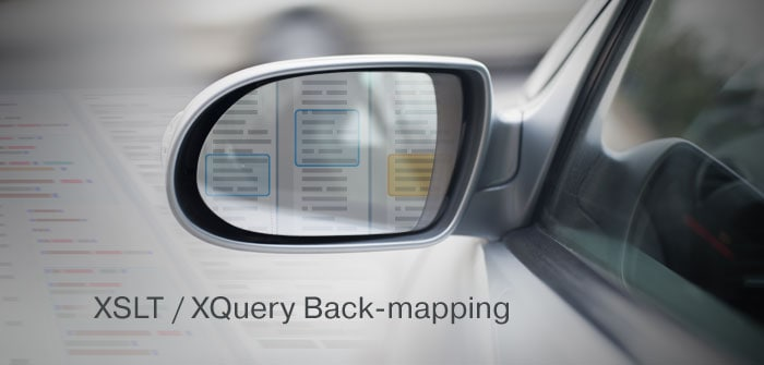 Debug XSLT with back-mapping