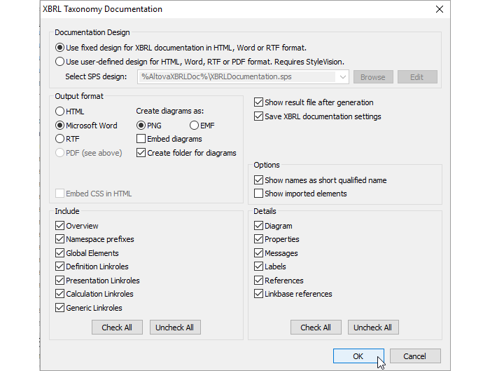 XBRL Taxonomy Schema Details