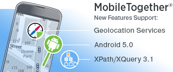 New features in Altova MobileTogether 1.4
