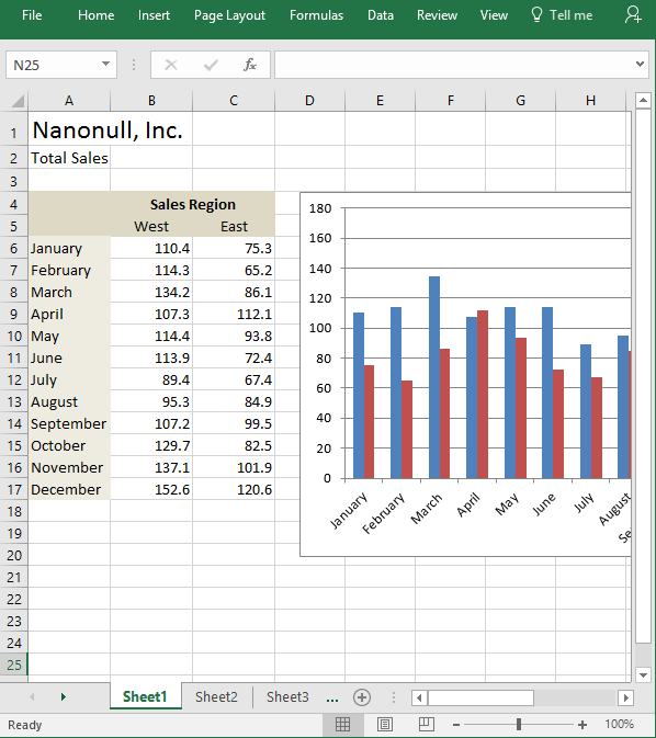 Excel mapping to formatted target