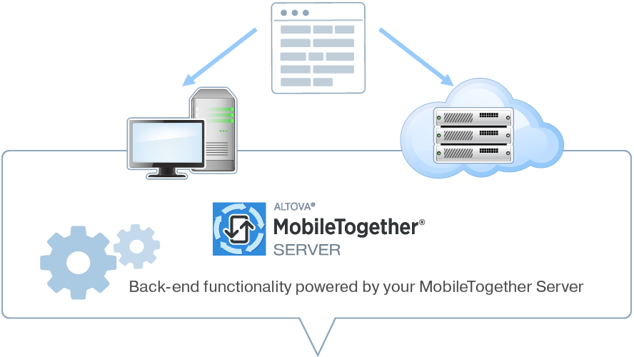MobileTogether Mobile App Development | Altova