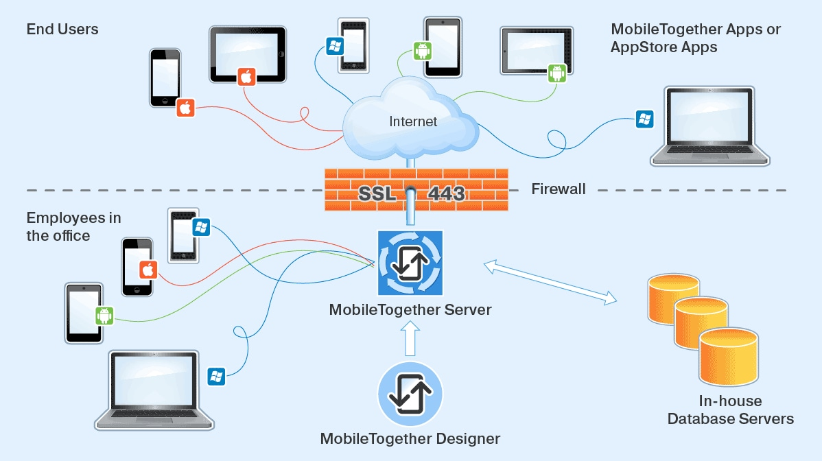 MobileTogether Server overview