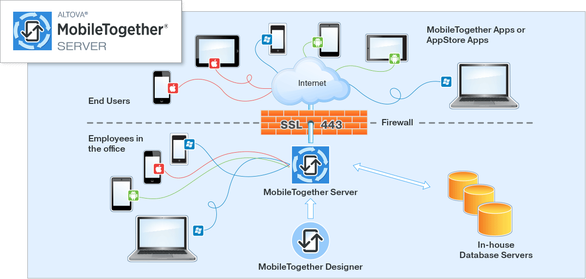 MobileTogether Server