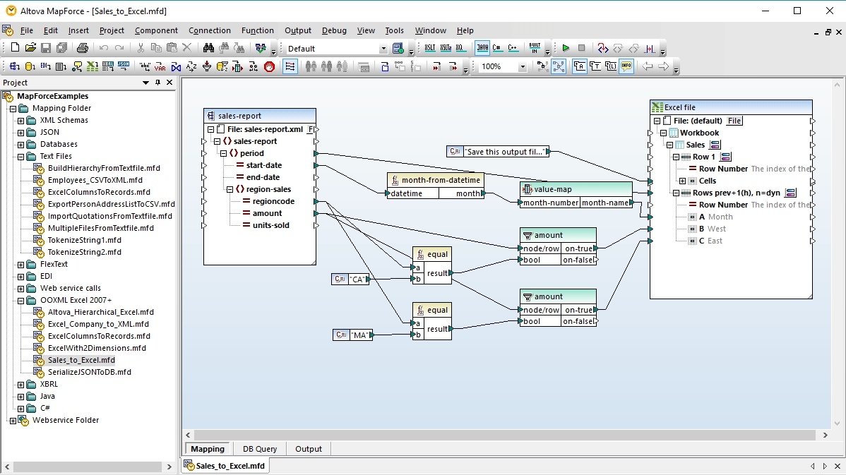 Excel Mapping | Altova